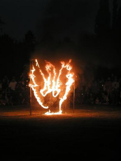 burning thing at illuminares